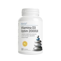 Vitamina D3 Optim 2000UI, 30 comprimate, Alevia
