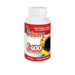 Vitamina E-400 (naturala) 90 cps. Adams Vision